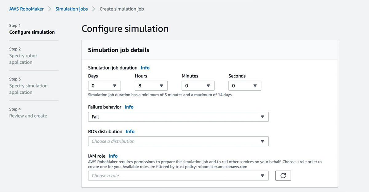 aws-robomaker-configuring-simulation