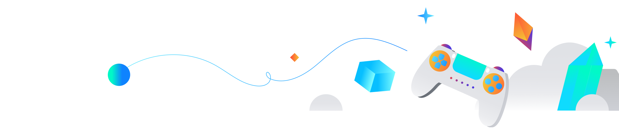 Google Cloud in Gaming ilustration